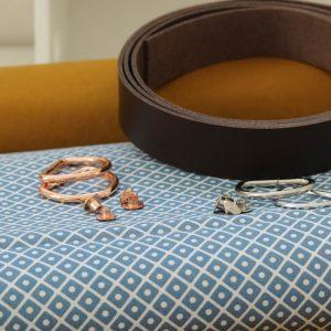 materialset dry oilskin tasche naehzimmer mit herz onlineshop