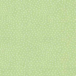 Westfalenstoffe Capri hellgrün Punkte Baumwollstoff Stoff Naehzimmer mit Herz Onlineshop Stoffe