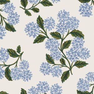 baumwolle meadow hydrangea white naehzimmer mit herz onlineshop