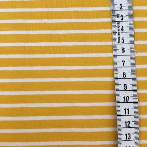 jersey biojersey senf gelb streifen stoffonkel naehzimmer mit herz onlineshop
