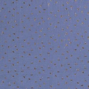 musselin indigo pusteblume naehzimmer mit herz onlineshop stoff
