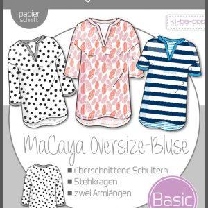 schnittmuster oversize bluse macaya ki ba doo naehzimmer mit herz onlineshop