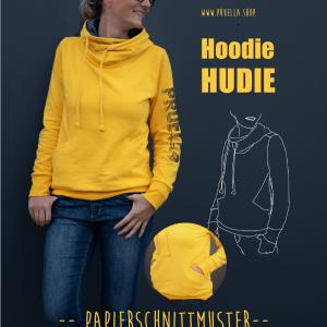 schnittmuster titelseite hoodie hudie prülla naehzimmer mit herz onlineshop