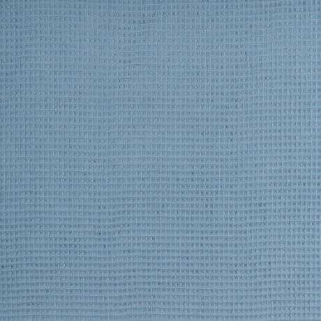 stoff waffelpiqué rauchblau swafing nelson naehzimmer mit herz onlineshop