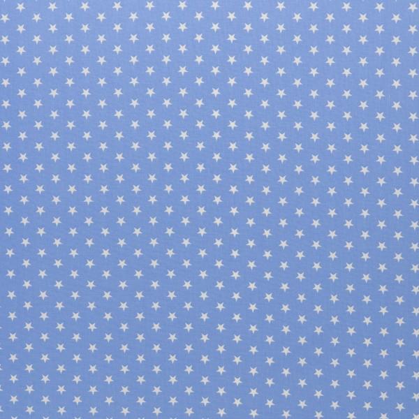baumwolle stoff sterne hellblau carrie swafing naehzimmer mit herz onlineshop