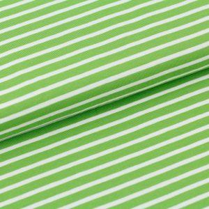 jersey stoff biojersey streifen kiwi weiss stoffonkel naehzimmer mit herz onlineshop