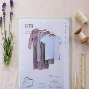 schnittmuster ritro basic nanna pattern design naehzimmer mit herz onlineshop