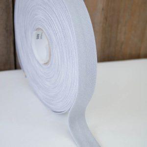 schraegband grau meliert lyon westfalenstoffe naehzimmer mit herz onlineshop