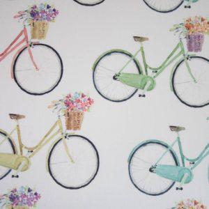 wachstuch fahrrad details naehzimmer mit herz onlineshop
