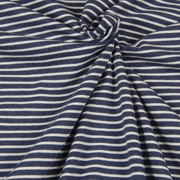 jersey blau streifen naehzimmer mit herz onlineshop