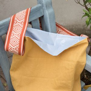 schnelle strandtasche materialset innen naehzimmer mit herz onlineshop