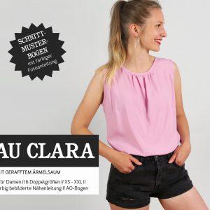 schnittmuster frau clara studio schnittreif naehzimmer mit herz onlineshop