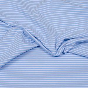 jersey stoff hellblau weiss gestreift naehzimmer mit herz onlineshop