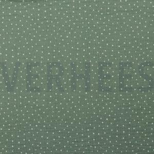 musselin seegruen gruen puenktchen punkte naehzimmer mit herz onlineshop
