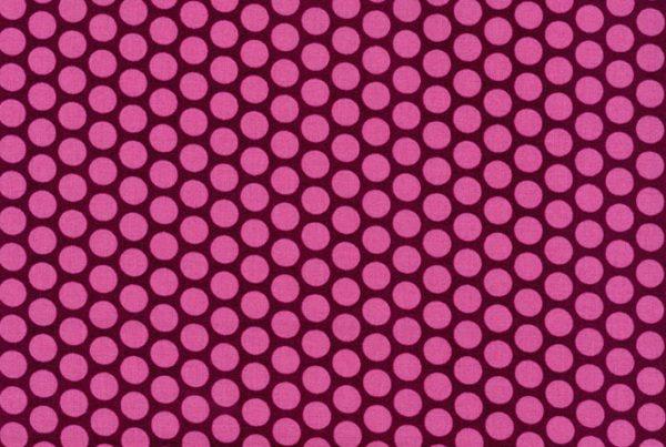 stoff baumwolle bordeaux rosa tupfen westfalenstoffe naehzimmer mit herz onlineshop