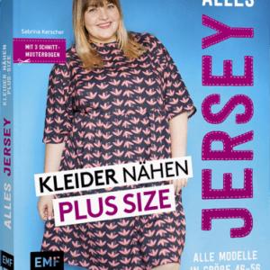 buch schnittmuster Alles-Jersey-Kleider-nähen-Plus-Size-naehzimmer mit herz onlineshop