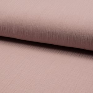 musselin stoff dusty rose naehzimmer mit herz onlineshop