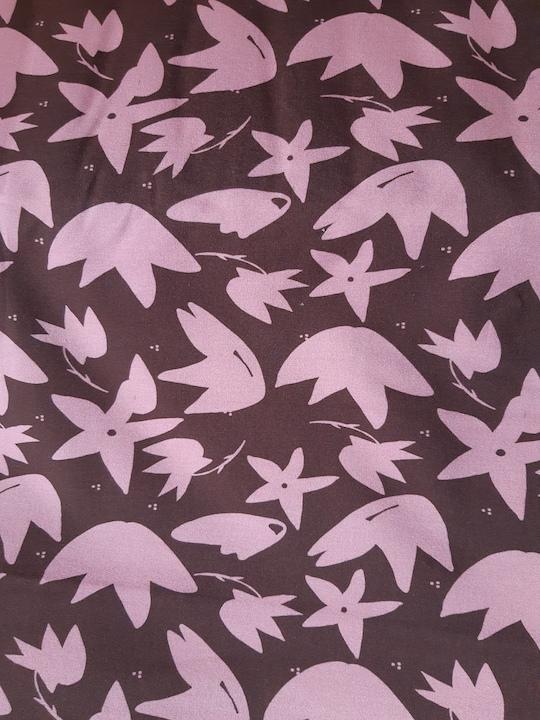sweat french terry cozy brinarina swafing rosa blueten naehzimmer mit herz onlineshop