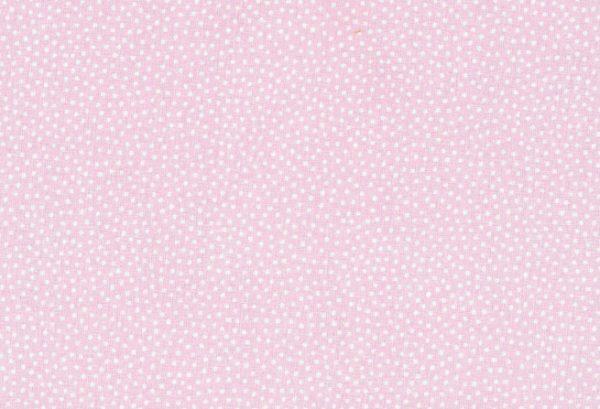 stoff baumwolle druckstoff prinzessin kbA rosé weiss tupfen westfalenstoffe naehzimmer mit herz onlineshop