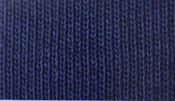 strickstoff blau naehzimmer mit herz onlineshop