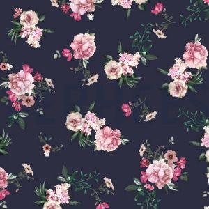 sweat stoff gots digital flowers nähzimmer mit herz onlineshop