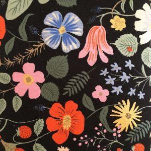 canvas stoff strawberry fields naehzimmer mit herz onlineshop