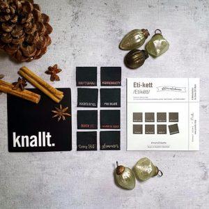 etikett 5. edition pruella glitzer auf schwarz naehzimmer mit herz onlineshop