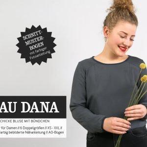 schnittmuster frau dana bluse studio schnittreif naehzimmer mit herz onlineshop