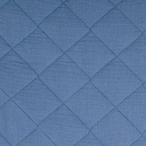 musselin stepp blau naehzimmer mit herz onlineshop