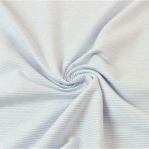stoff jersey streifen hellblau naehzimmer mit herz onlineshop