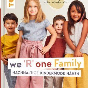 Buch we r one family topp verlag naehzimmer mit herz onlineshop