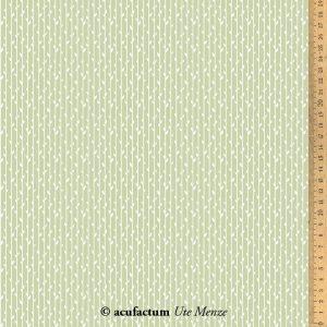 stoff baumwolle blaetterstreifen gruen acufactum naehzimmer mit herz onlineshop