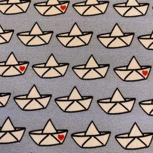 stoff baumwolle cherry picking loveboat hellblau swafing naehzimmer mit herz onlineshop