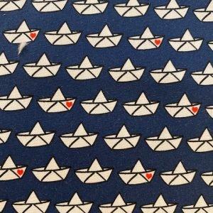 stoff baumwolle loveboat by cherry picking dunkelblau swafing naehzimme mit herz onlineshop