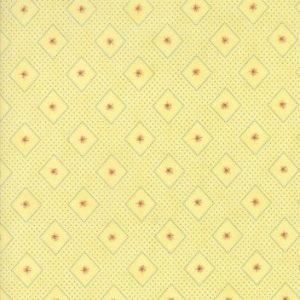 stoff baumwolle minick & simpson Ann´s Arbor gelb naehzimmer mit herz onlineshop