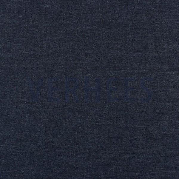 stoff leinen sorona leinen navy dunkelblau naehzimmer mit herz onlineshop