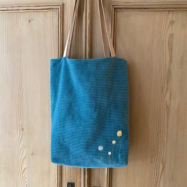 materialset little hipster cord tasche naehzimmer mit herz onlineshop