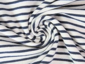 jersey stoff streifen marine naehzimmer mit herz onlineshop