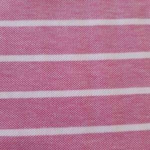 stoff baumwolle pique rosa streifen naehzimmer mit herz onlineshop