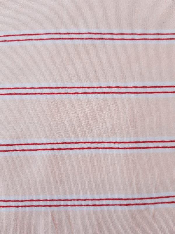 stoff jersey streifen rosa weiss rot naehzimmer mit herz onlineshop