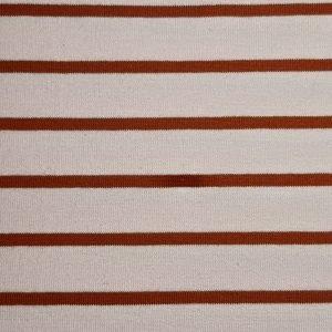 stoff jersey streifen terracotta brick naehzimmer mit herz onlineshop