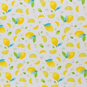 stoff jersey sun lemon swafing naehzimmer mit herz onlineshop