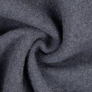 stoff wollstoff gekochte wolle naomie swafing jeansblau naehzimmer mit herz onlineshop